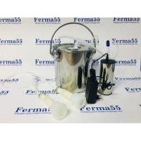 Электрический доильный аппарат для коз на 5 литров с пульсатором