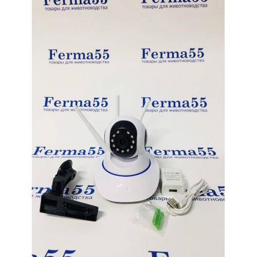 Беспроводная поворотная WiFi камера видеонаблюдения WiFi