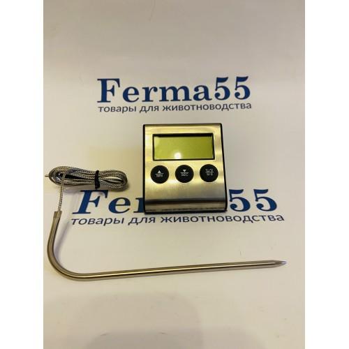 Термометр цифровой с выносным датчиком и звуковым оповещением