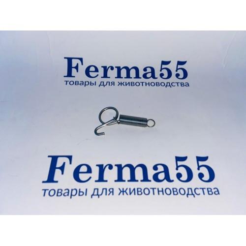 Крюк пружинный для клетки, 60 мм