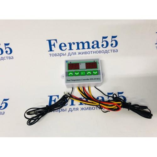 ST3012 - 2-канальный терморегулятор (-50+110ºС, 220В, 1500Вт)